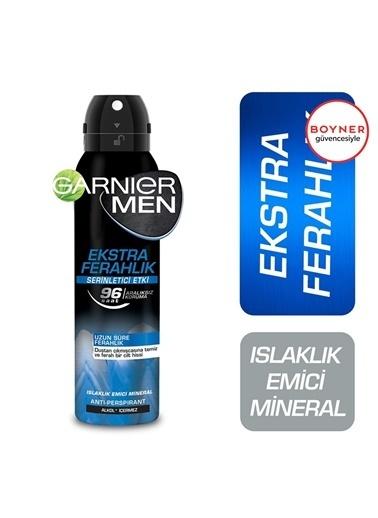 Garnier Garnier Men Ekstra Ferahlık Aerosol Deodorant 150 Ml Renksiz